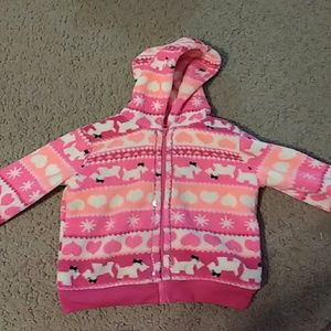 570a5fde7 wonderkids Jackets & Coats | Girls Zip Up Kitty Cat Jacket With Bow ...